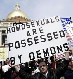 Religion against homosexual