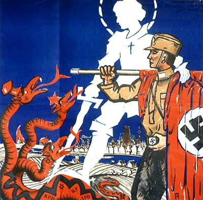 Image result for Christian NAZI CARTOON