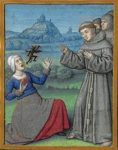 Medieval and Renaissance Depictions of Possession and Exorcism -