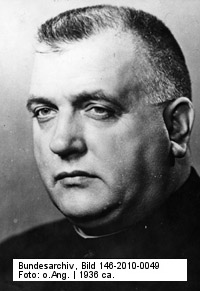 Father Joseph Tiso, leading Nazi murderer, executed for his crimes in 1946