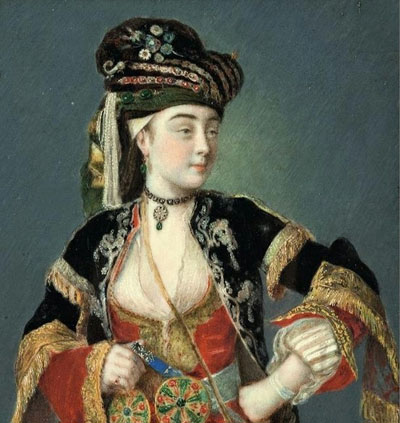 Lady Mary Wortley Montagu in Ottoman dress