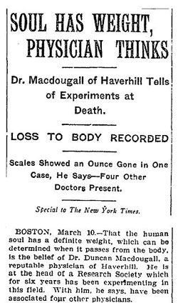 New York Times, 11 March, 1907