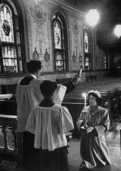 Churching of a Woman in Poughkeepsie, 1953.jpg title=